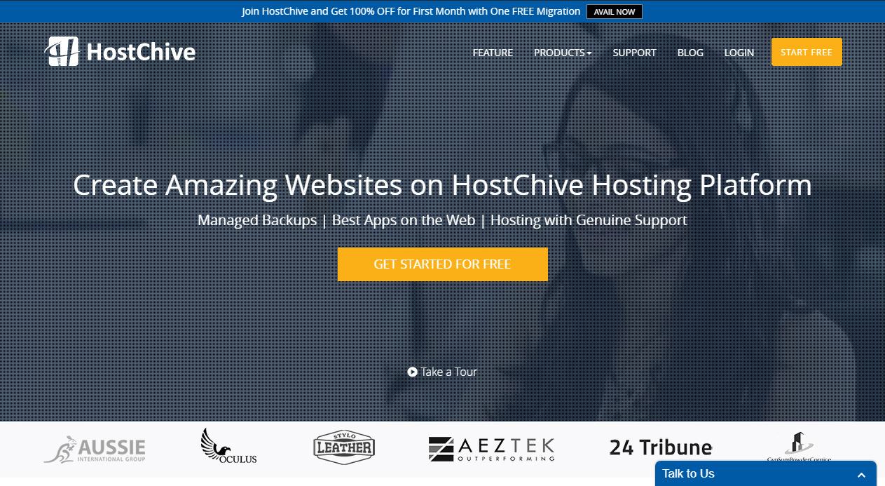 HostChive