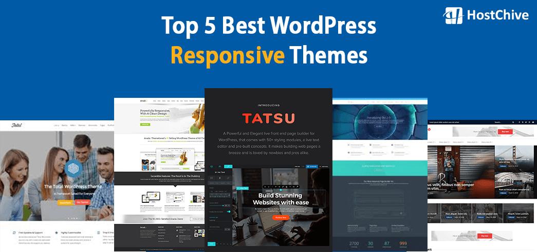 Top 5 Best WordPress Responsive Themes |